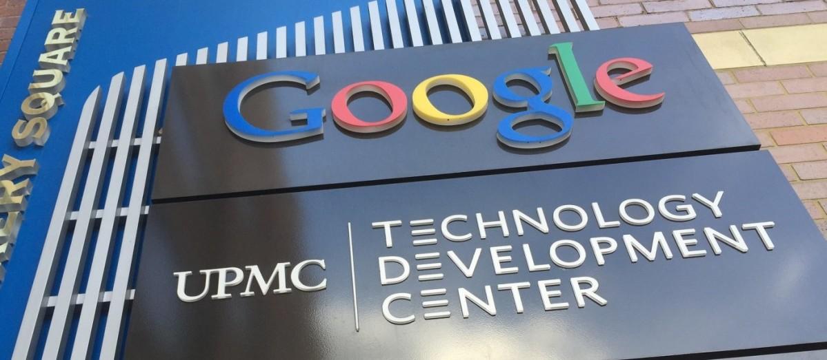 Google Pittsburgh sign
