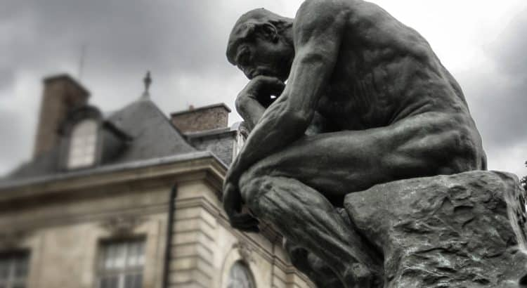 Rodin - The Thinker - cognition